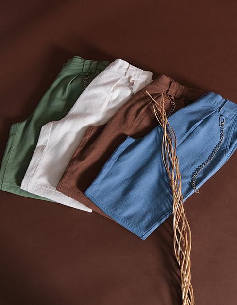 Zincir Detaylı Pantolon