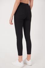 Bayan Siyah Yüksek Bel Pantolon