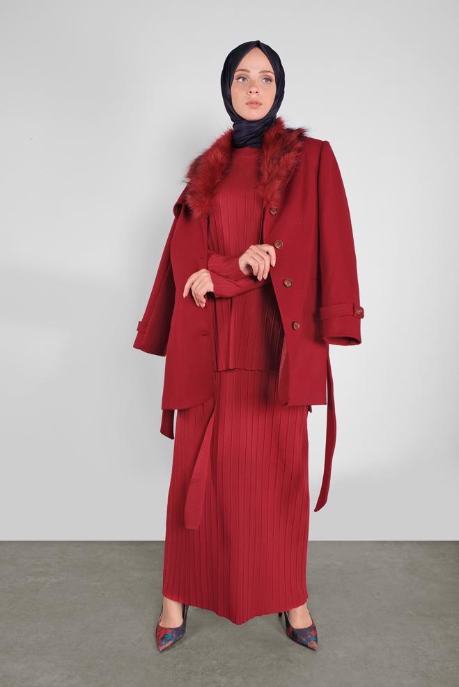Bayan  Romantik Kırmızı
