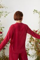 Female RASPBERRY BACIO BLOUSE