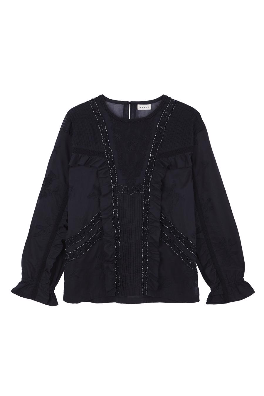 Female black BELEZZA BLOUSE