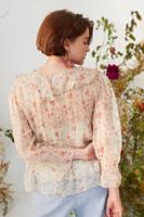 Female ECRU FIORI BLOUSE