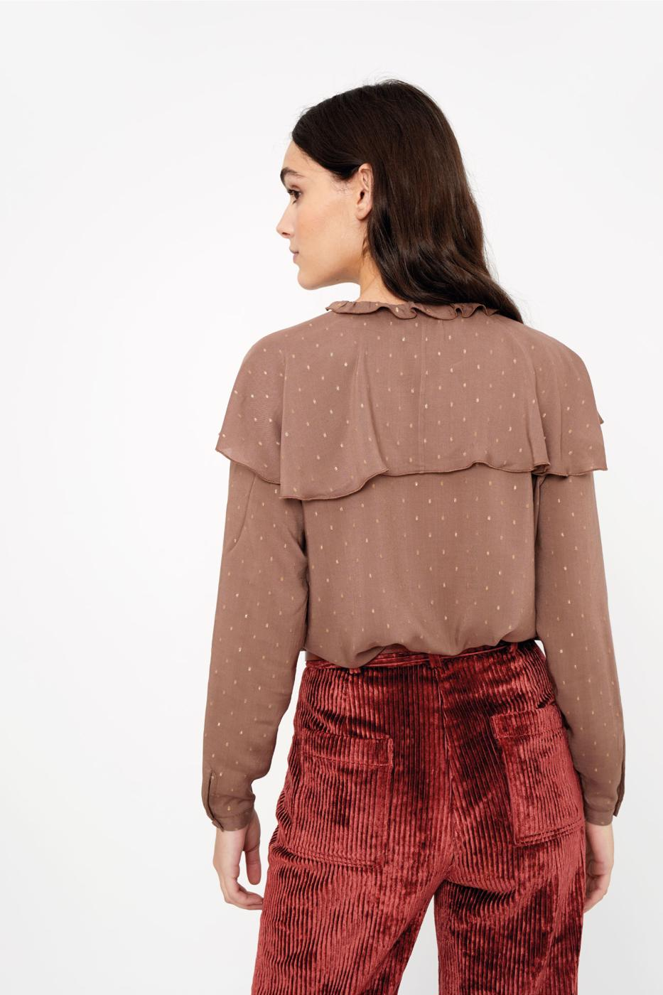 Female MAUVE DOMANI BLOUSE