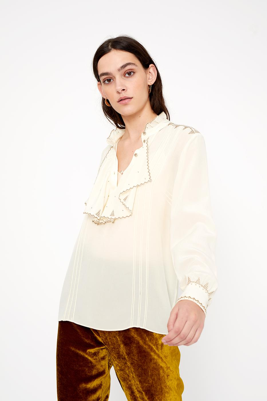 Female ECRU BELLA BLOUSE