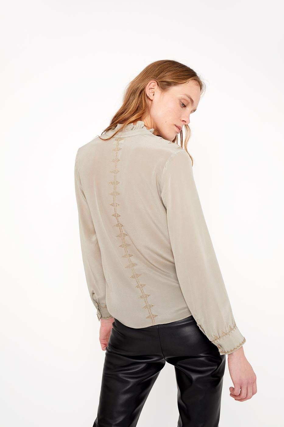 Female Grey BELLA BLOUSE