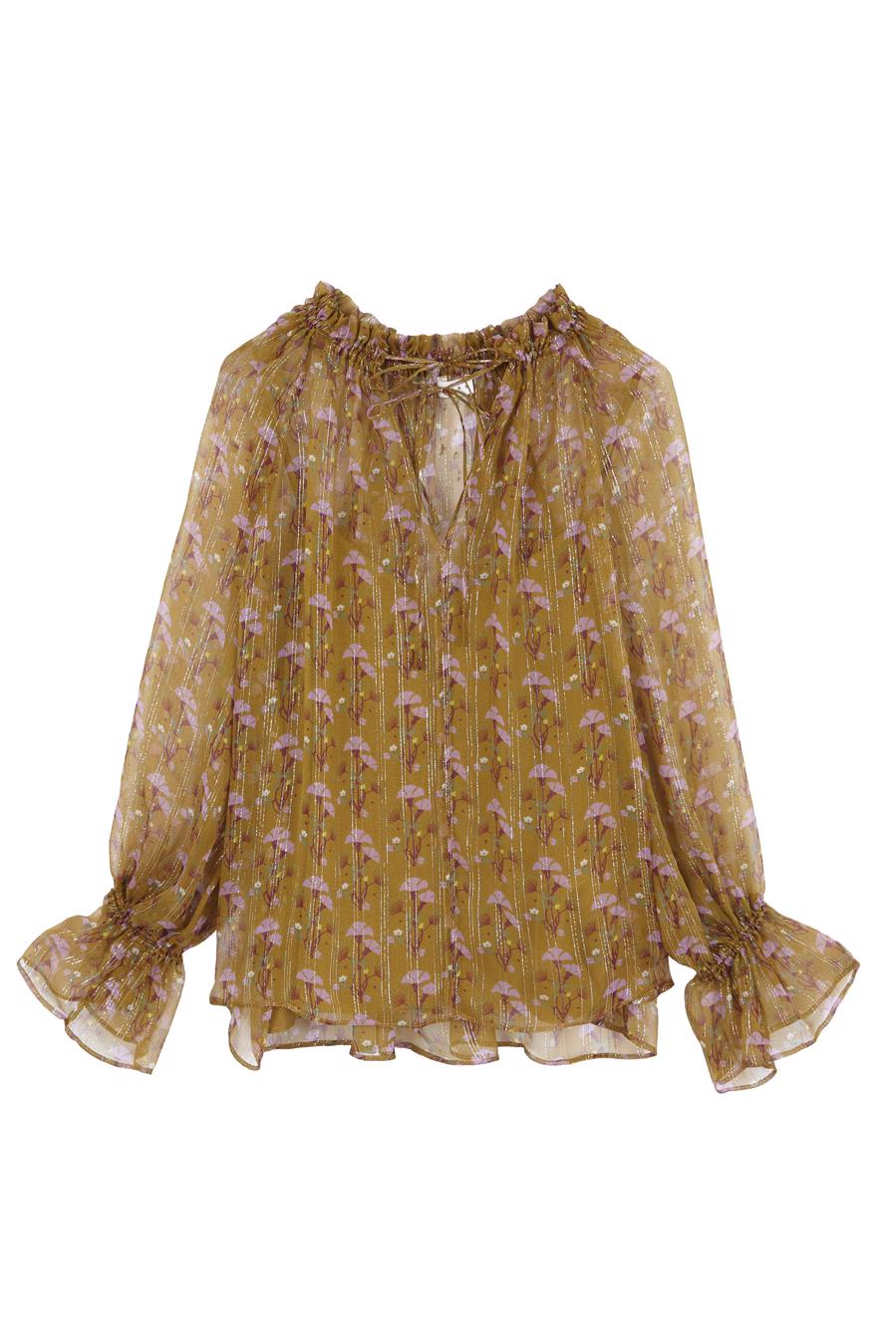 Female KHAKI FIRENZE BLOUSE