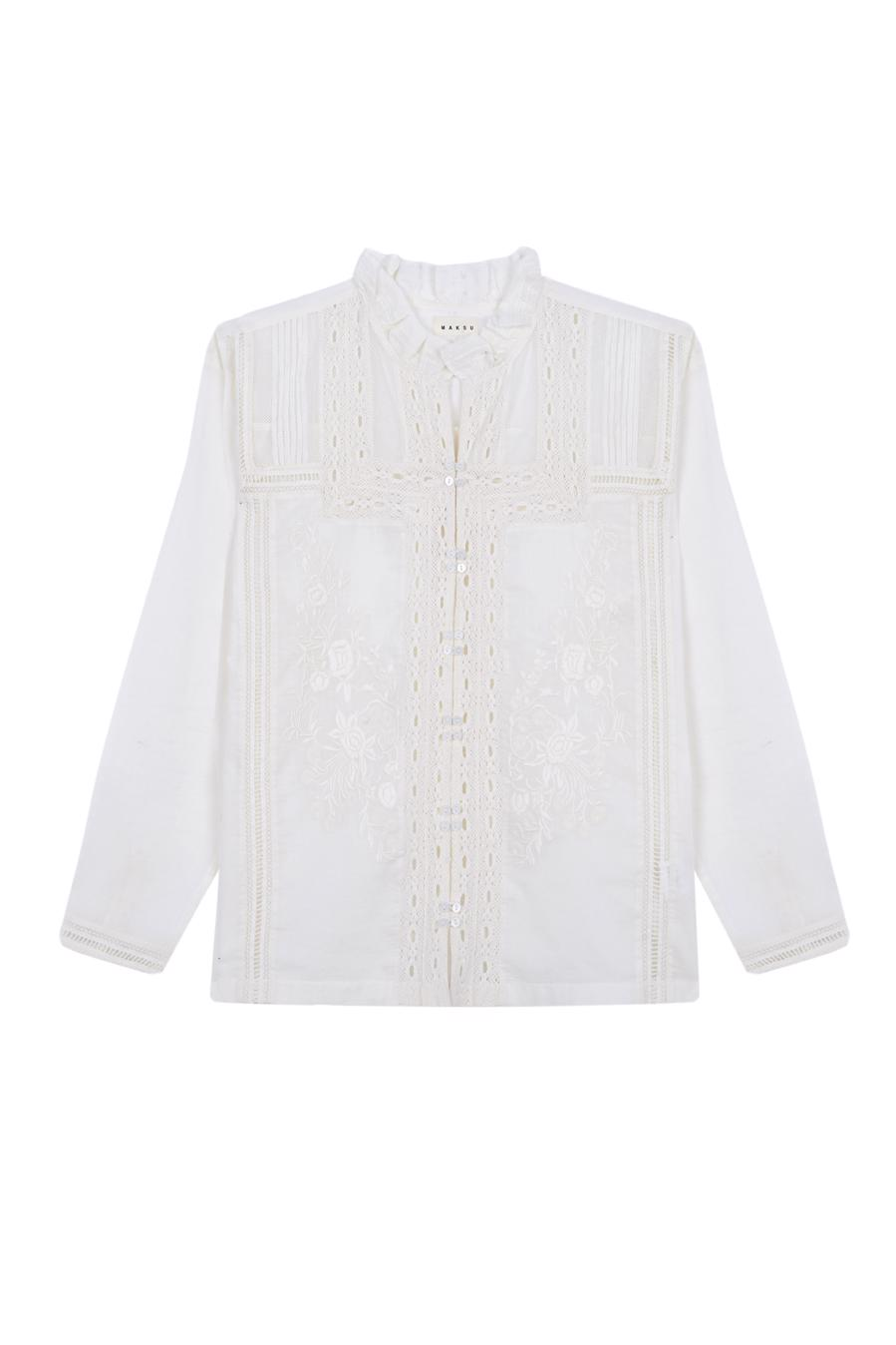 Female ECRU ORTIGIA BLOUSE