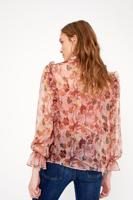 Female pink FIORIRE BLOUSE