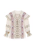Female LIGHT BEIGE CATANIA BLOUSE