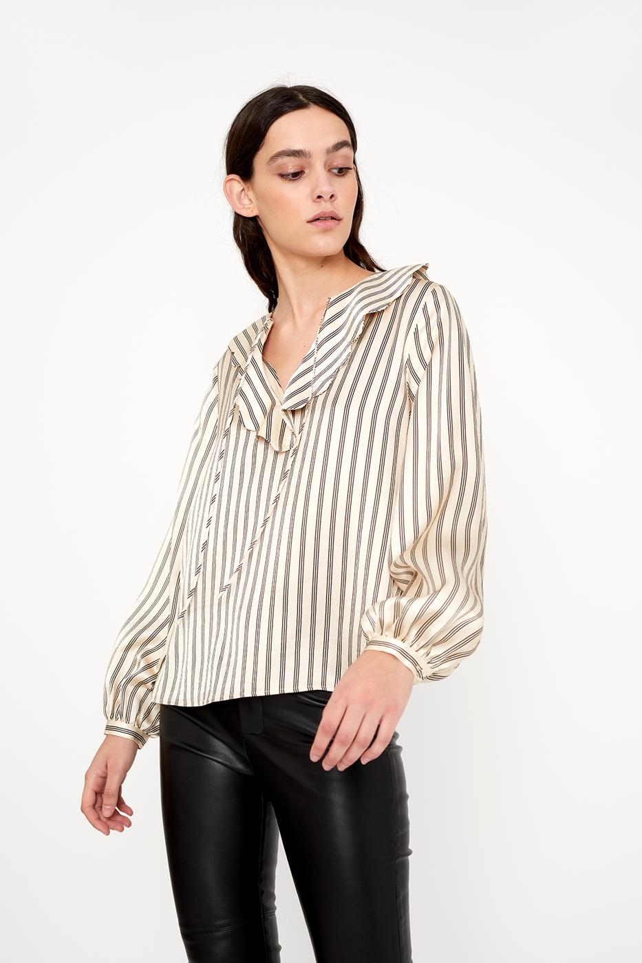 Female black DOLCE BLOUSE