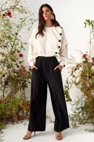 Female black BARI PANTS