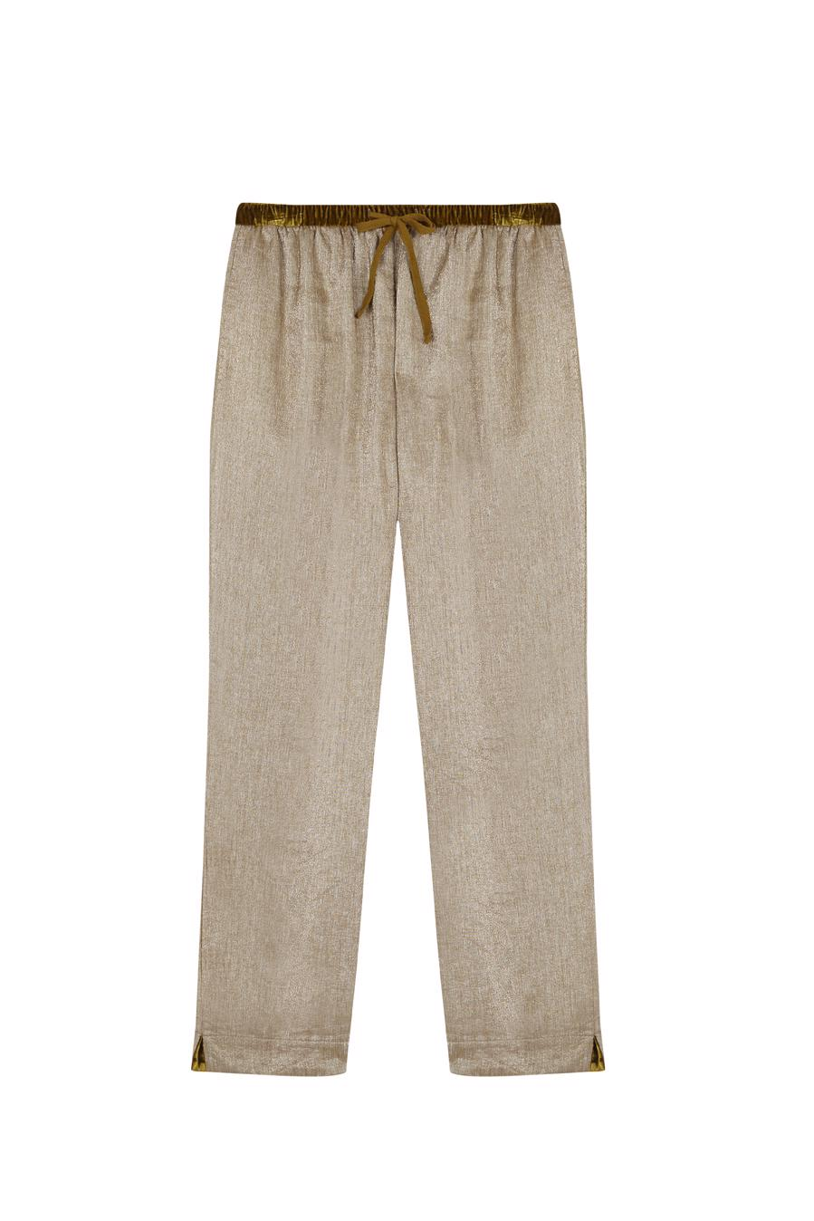 Female SHINNY OLIVE AMALFI PANTS