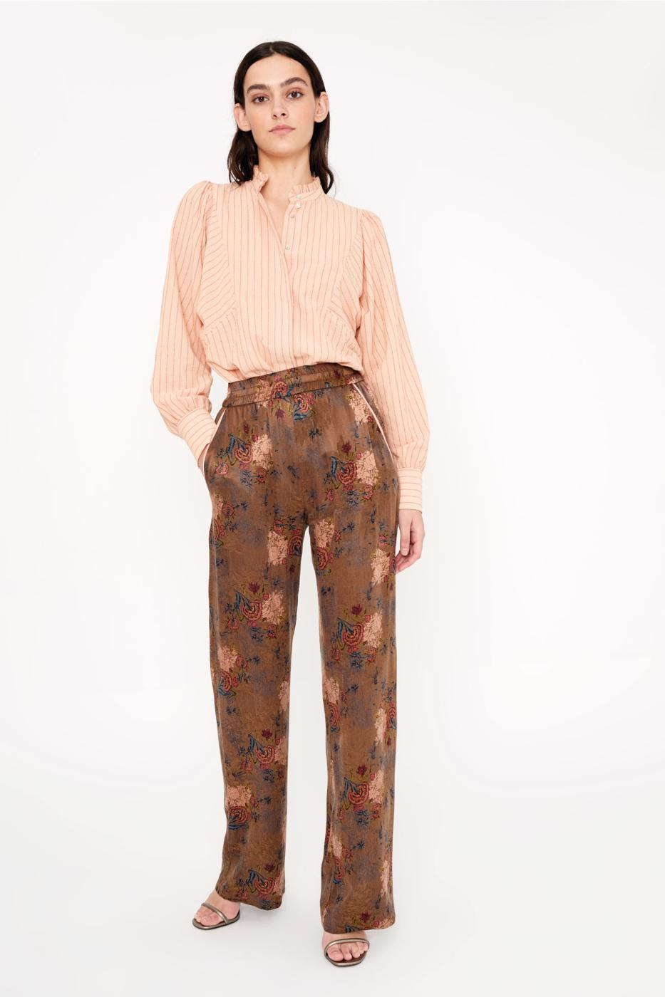 Female FLOWER PRINT TARANTO PANTS