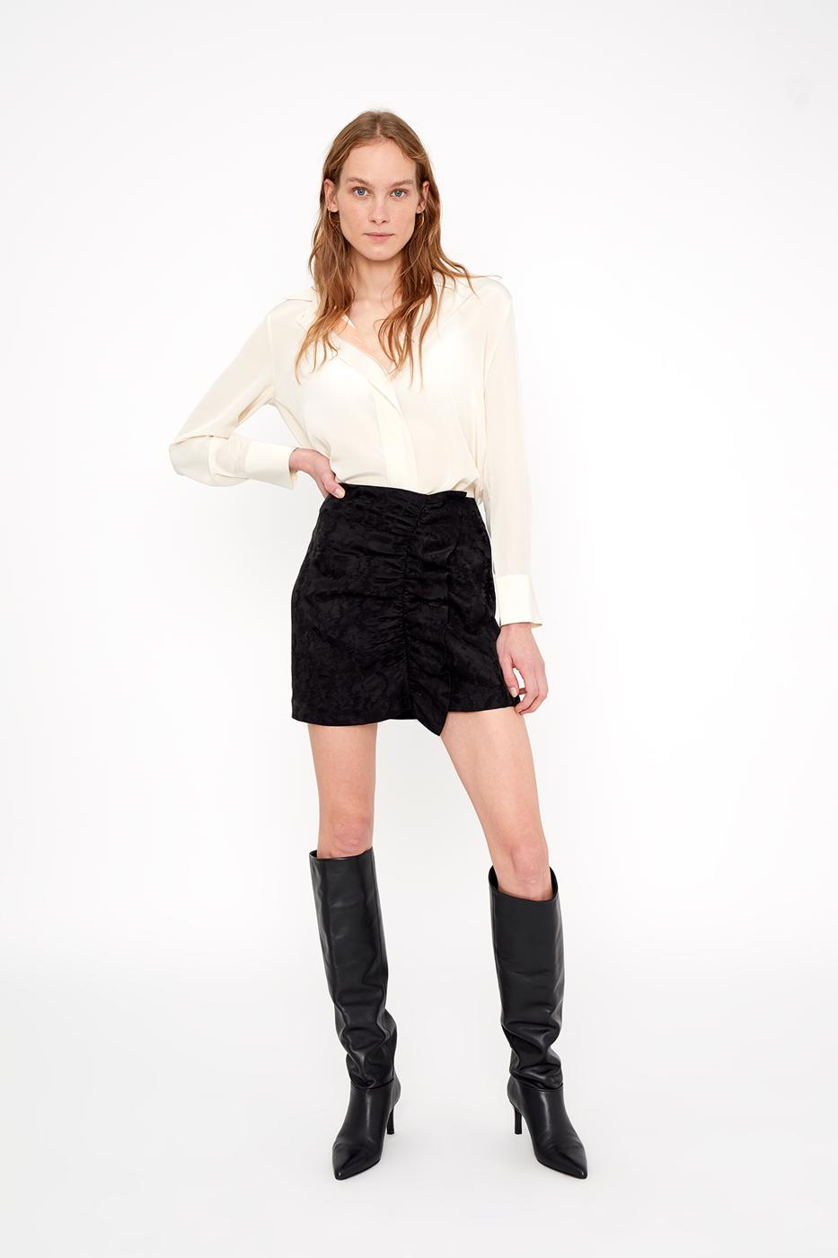 Female black FESTA SKIRT