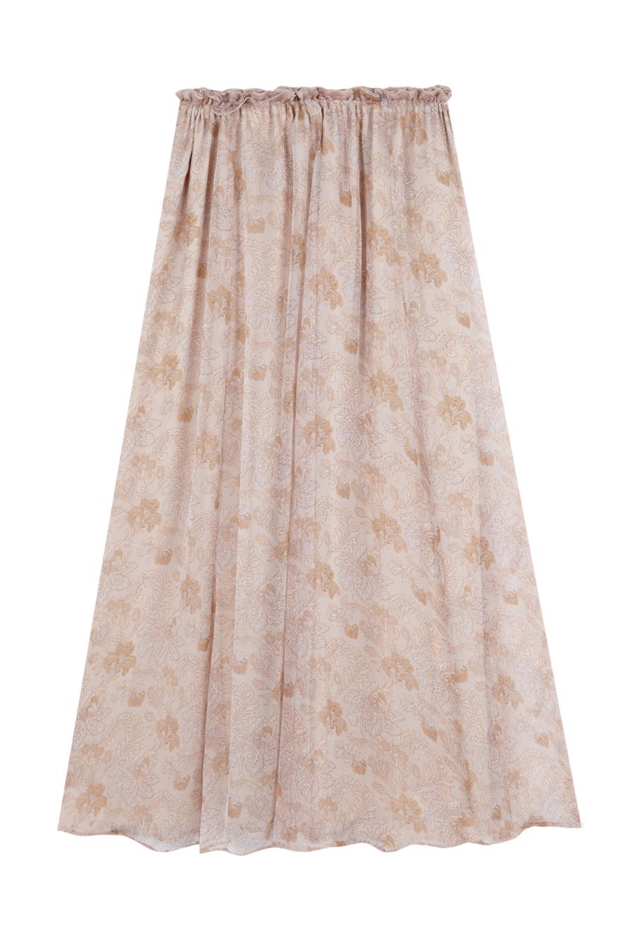 Female LIGHT BEIGE ROMANTICO SKIRT