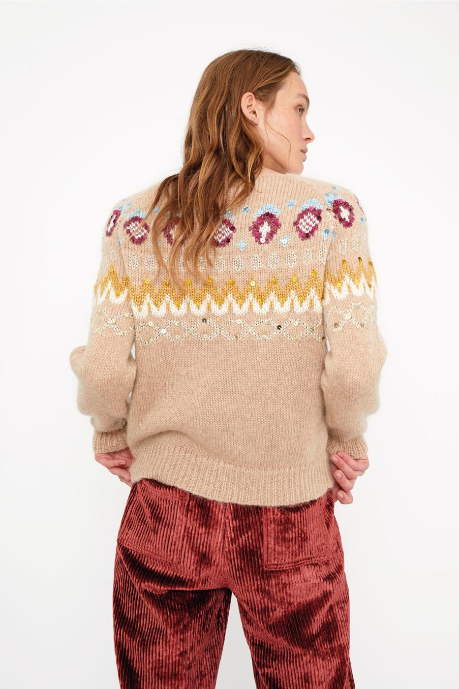 Female STONE REINA SWEATER