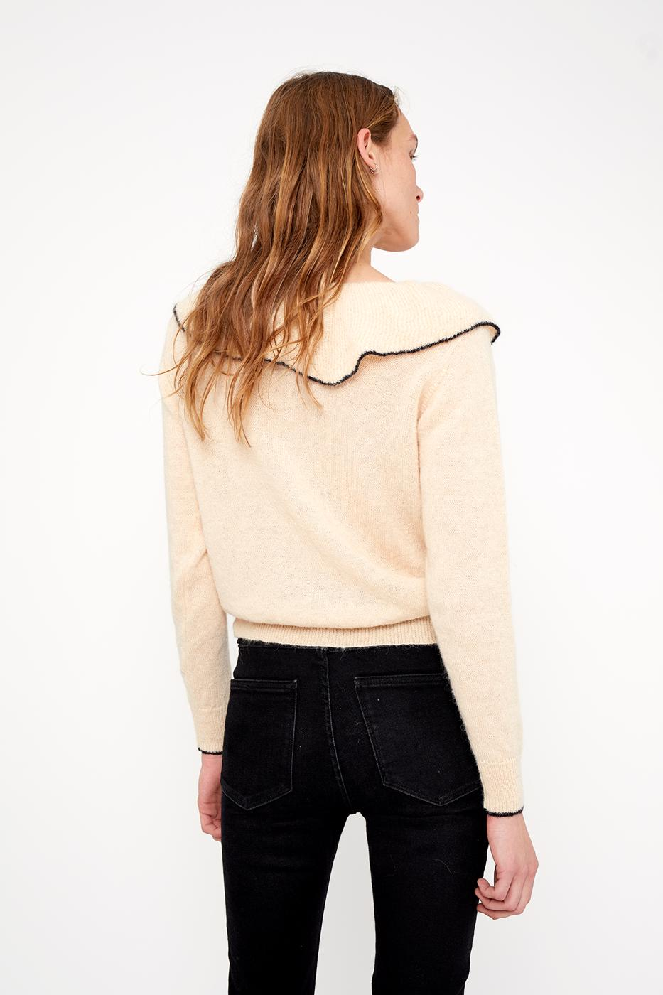 Female LIGHT BEIGE VITA SWEATER