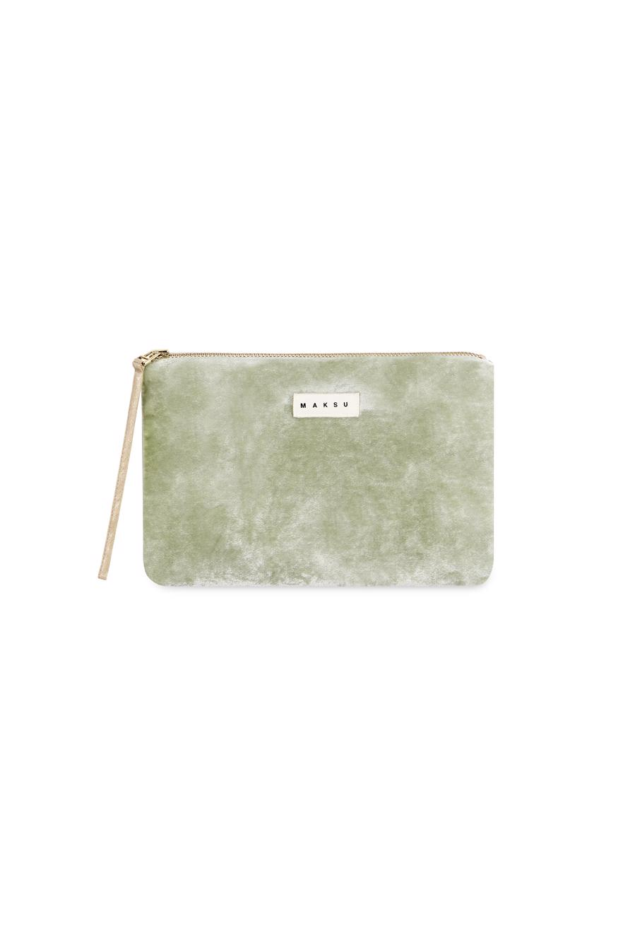 Female green VENEZIA MAKE UP BAG