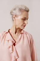 Female BLUSH RIVIERA BLOUSE