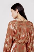 Female RUST SOL BLOUSE
