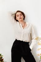 Female colorless LAGASCA BLOUSE