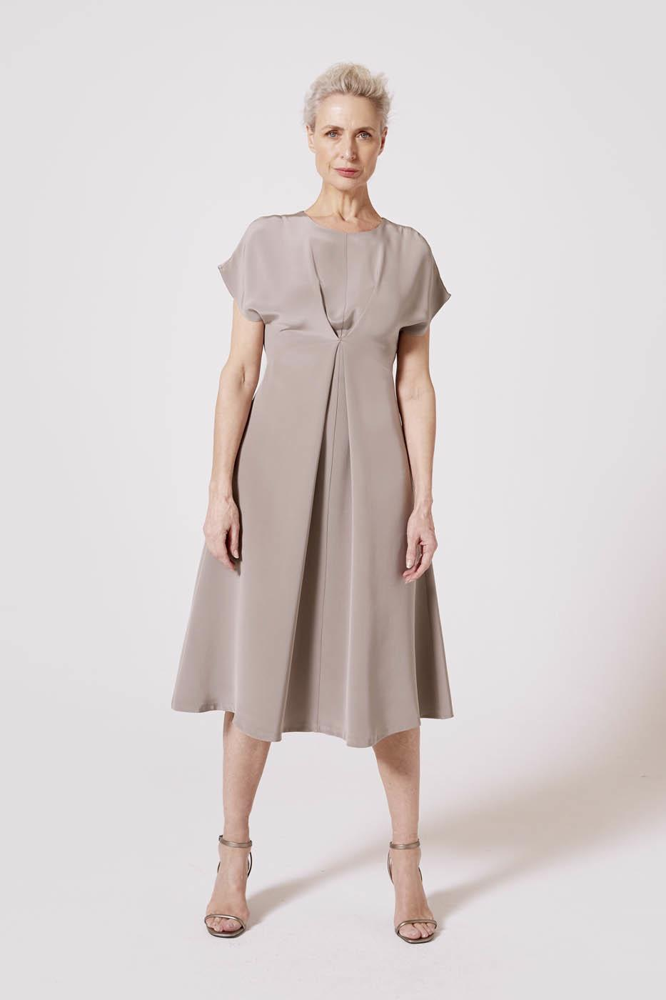 Female Grey SANTA ANA DRESS