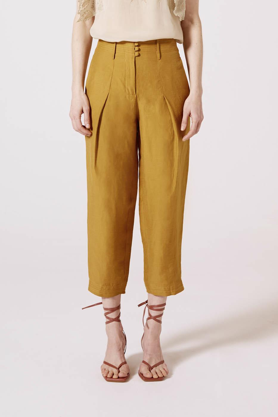 Female OLIVE GRAN VIA PANTS