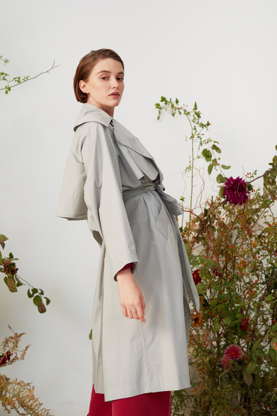 Female Grey IDEAL TRENCH