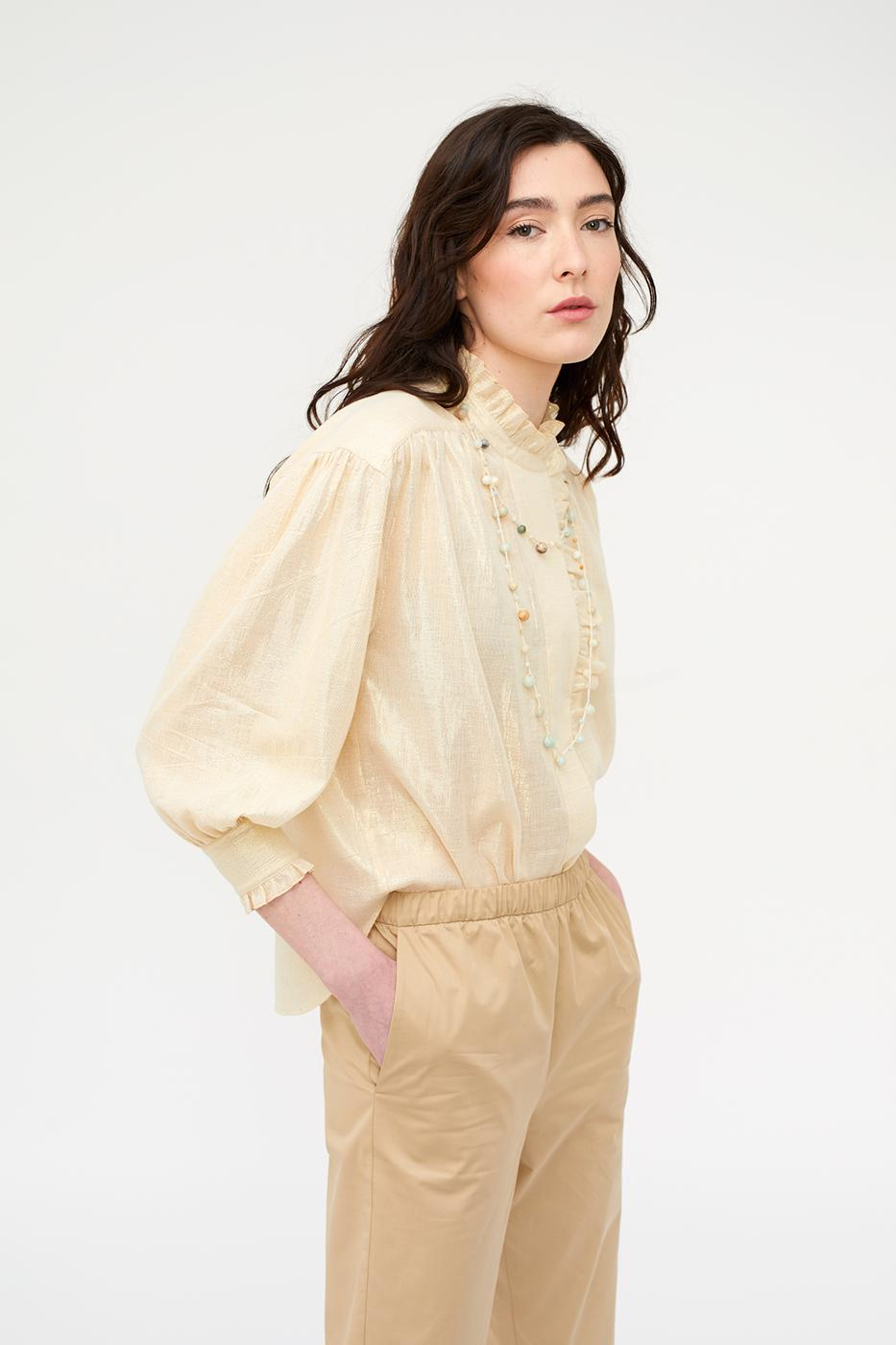 Female GOLD FLAKES ALARA BLOUSE