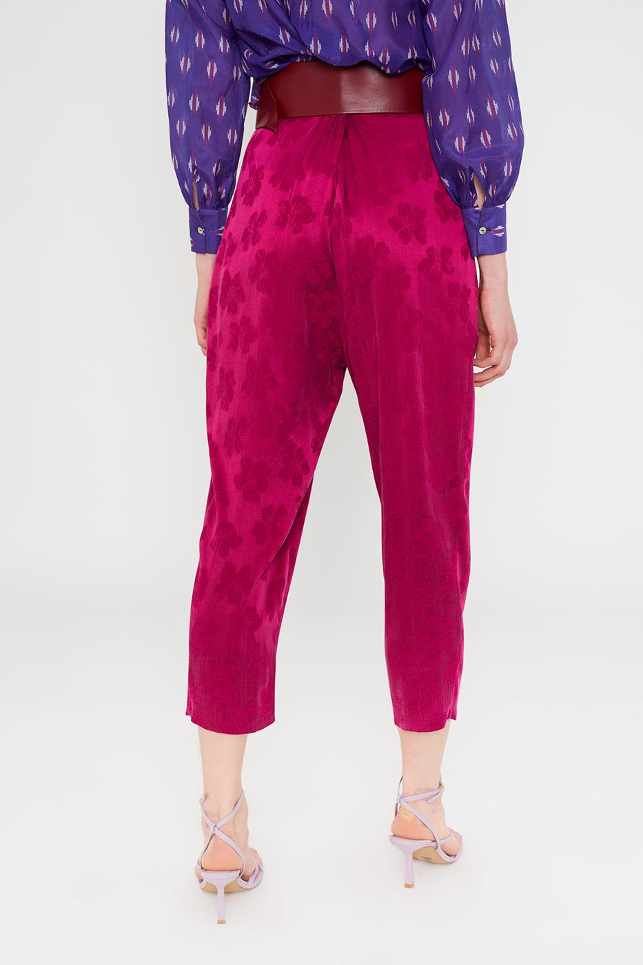 Female MAGENTA ASYA PANTS