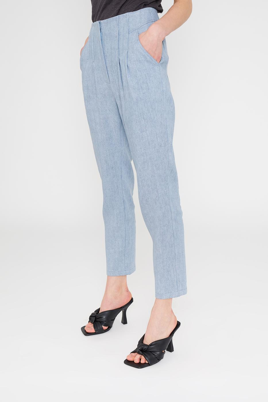Female LIGHT DENIM TEOS PANTS