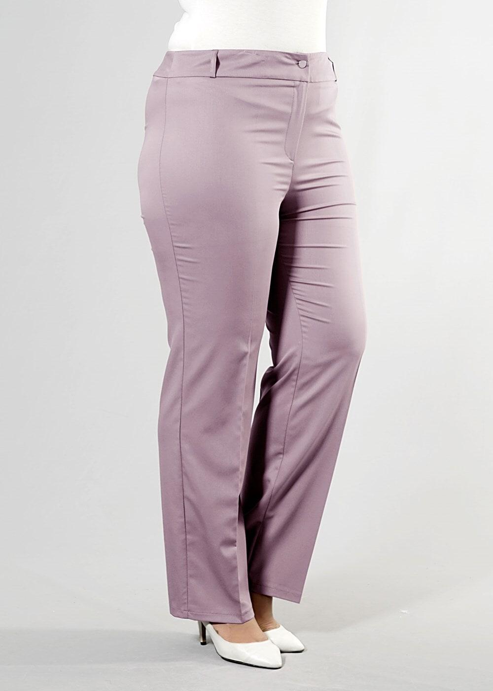 Bayan KAHVE T 7977 Summer Nanch Pantolon-Alv Fashion