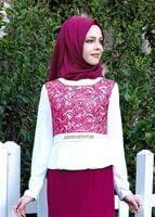 Bayan FUŞYA T 3140 Marimar Tesettür  Elb.Tkm-Alv Fashion