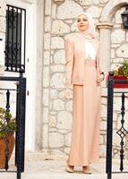 Bayan PUDRA T 3121 Jakar 2Li Tesettür Elb.Tkm-Alv Fashion
