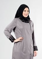 Bayan KUM T 1543 Natalia Tesettür Trench-Alv Fashion