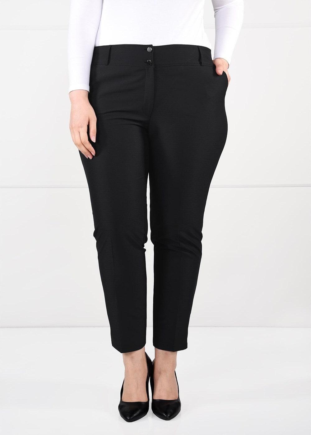 Bayan SİYAH T 7010 Buğu 8017 Pantolon-Alv Fashion