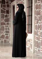 Female BLACK LACE DETAIL DRESS T 4803