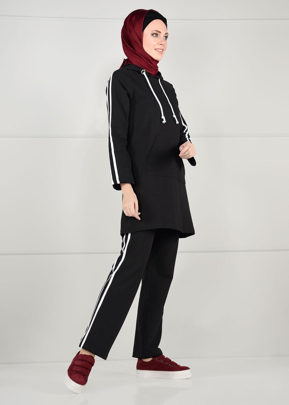 Femelle NOIR  Pantalon de Survêtement T 1500