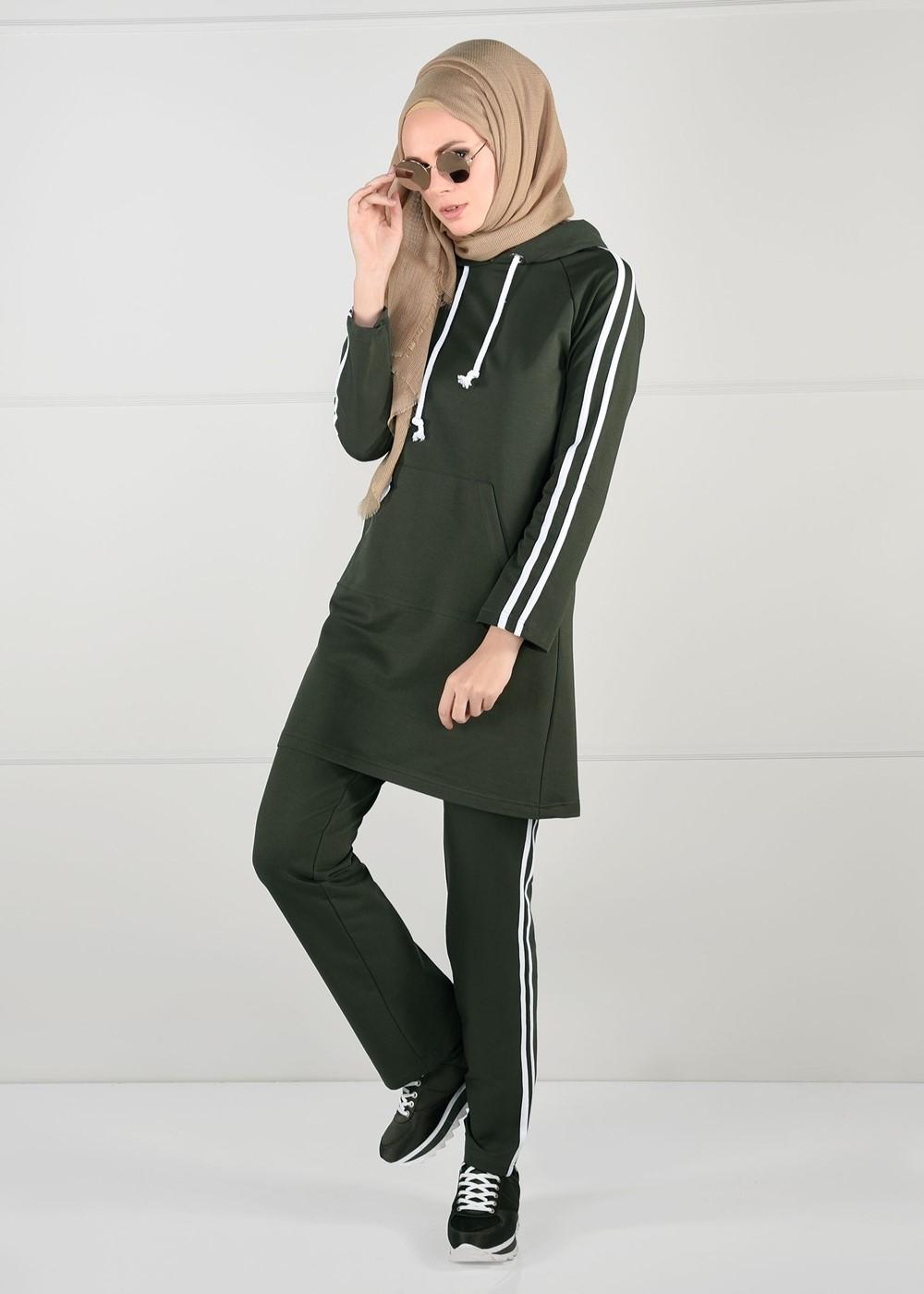Femelle KAKI  Pantalon de Survêtement T 1500