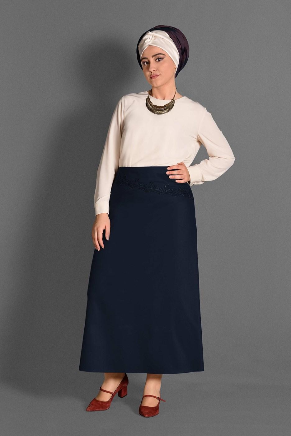 Femelle BLEU MARINE T 6077 Natalia Etek -Alv Fashion