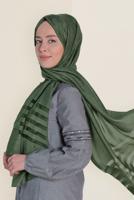 Bayan HAKİ T 9950 ALVİNA TÜLLÜ ABİYE ŞAL