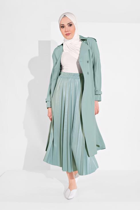 Female  ALVıNA BELTED CLASSIC TRENCH COAT 1429