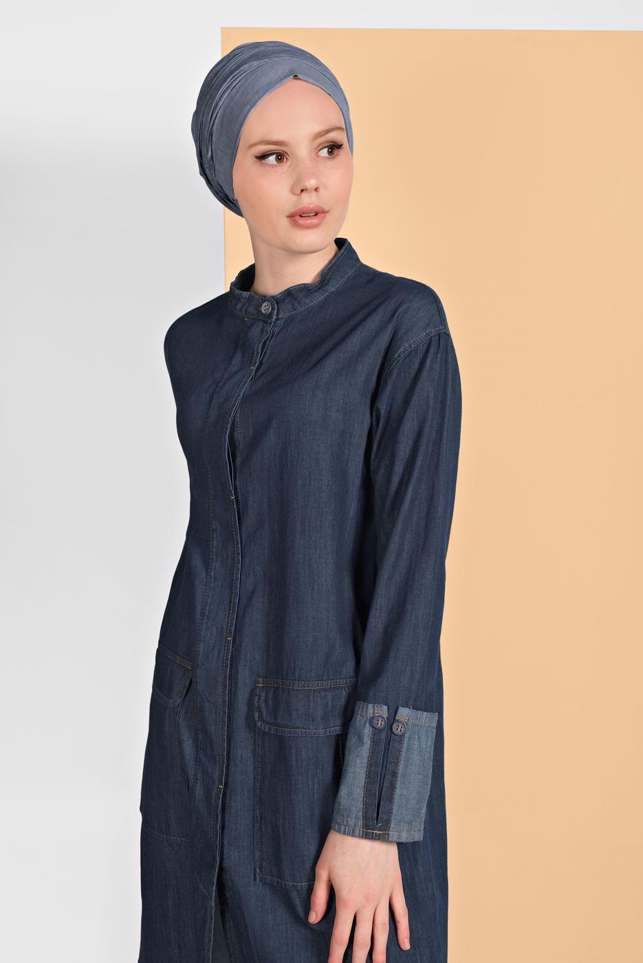 Female BLUE DENIM JACKET 9304