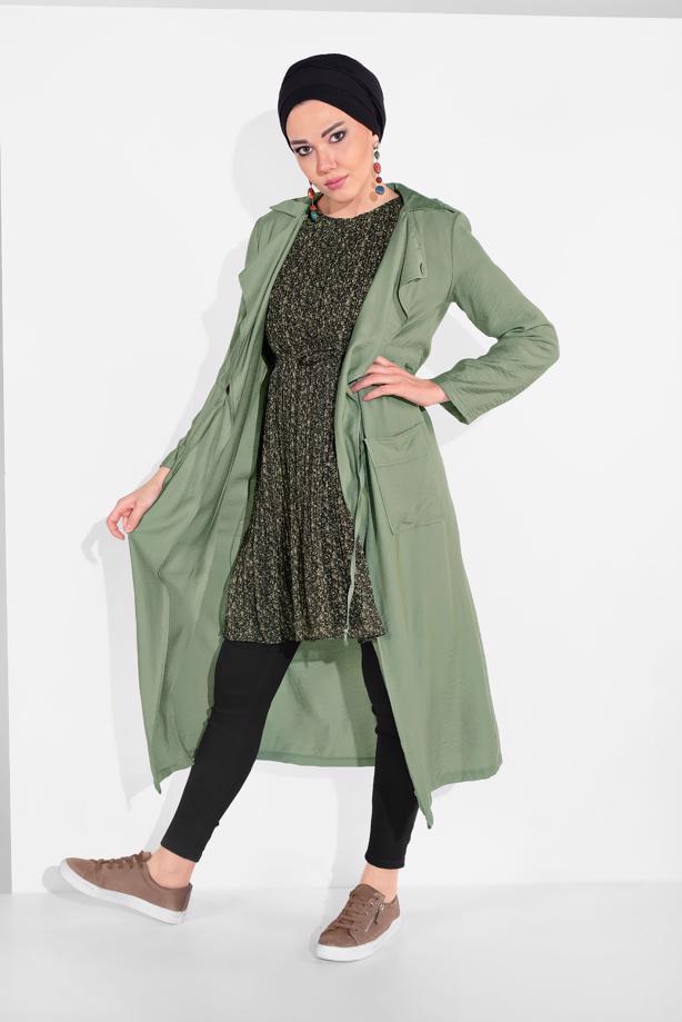 Bayan  çok renkli tunik modası