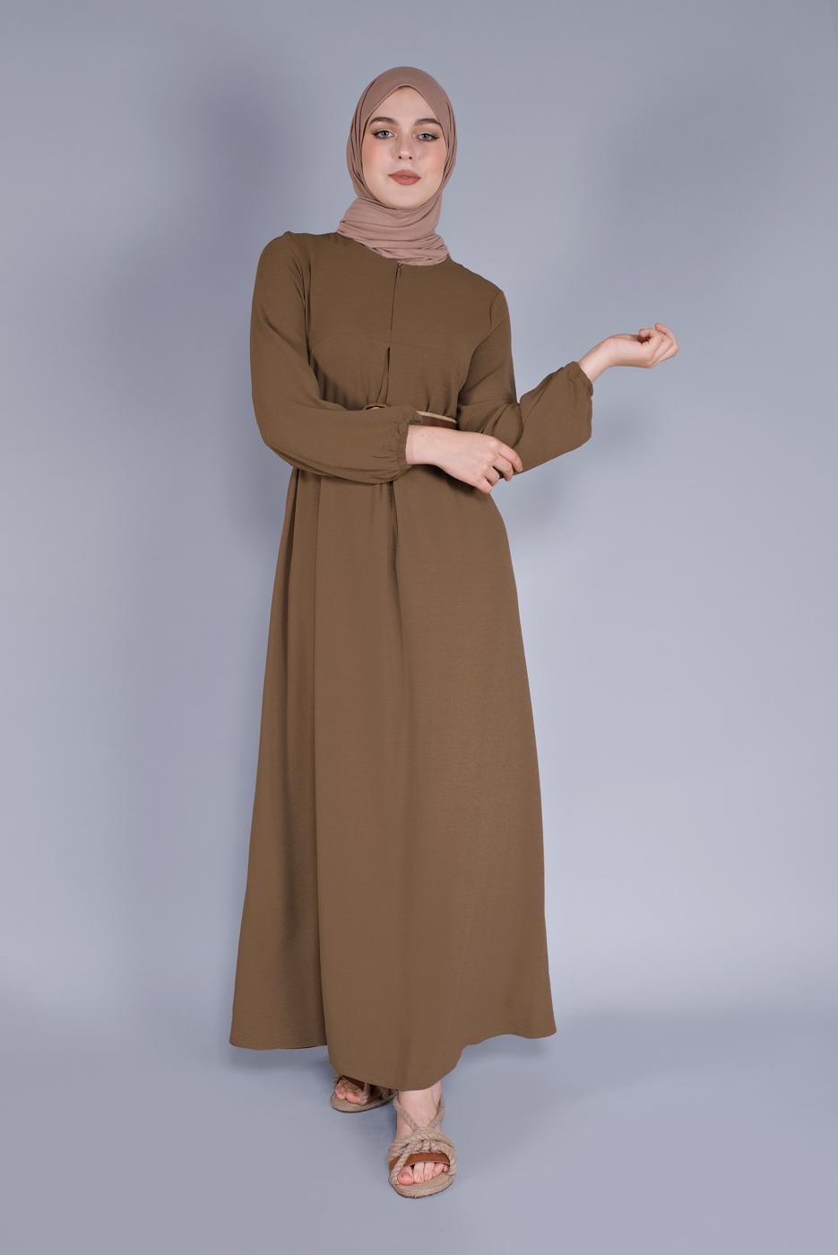 Female TABA ZIPPER DRESS 2634